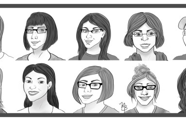 WWAC Portraits - illustrations by Maddy Beaupré mcbeaupre.com