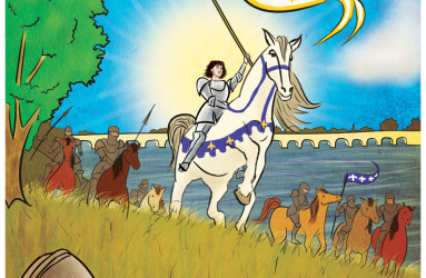 Joan of Arc - by Maddy Beaupré. mcbeaupre.com
