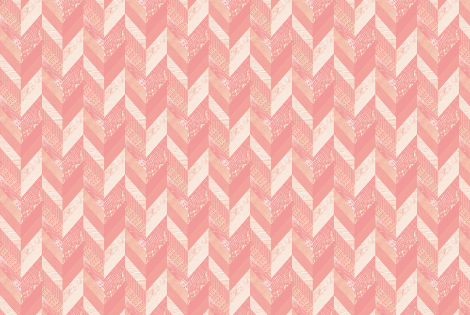 Pink Herringbone Maddy Beaupré Illustration Magnificent Pink Patterns